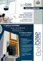 Catalogue - Optibaie solution pour volets roulants